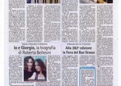 29/11/19 Gazzetta d'Asti