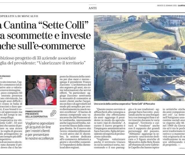 21/01/21 La Stampa